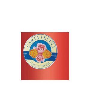 Busta 26fogli 50x70cm carta velina gr31 rosso sadoch KV106427_67647