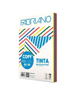 Carta copy tinta multicolor a4 80gr 250fg mix 5 colori forti 62621297_67748