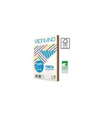 Carta copy tinta multicolor a4 80gr 250fg mix 5 colori tenui fabriano 62521297_67749