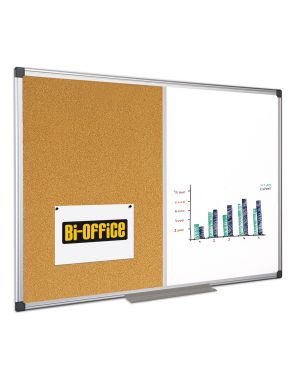 Lavagna combinata bianca - sughero 60x90cm bi-office XA0303170 5603750263173 XA0303170_67799 by Bi-office