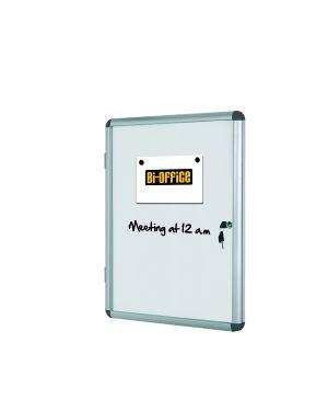 Bacheca per interni bianca magnetica 9xa4 verticale bi-office VT630109150 5603750521099 VT630109150_67806