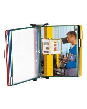 Leggio da muro con 10 tasche pvc colori ass. t-technic tarifold B414109 3377994141093 B414109_67811 by Tarifold