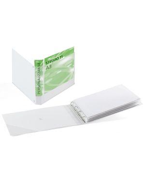 Raccoglitore stelvio ti 25 4d a3 42x30cm album bianco personalizzabile sei rota 36255101_68026