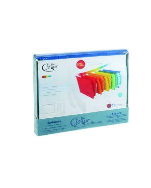 Box 10 cartelle sospese cassetto 33 - v colori ass. joker bertesi 400/330 Link-J7 8058983261507 400/330 Link-J7_68056 by Bertesi