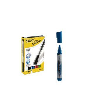Stuccio 4 marcatori p.tonda whiteboard velleda® liquid ink tank bic® 902099_68067