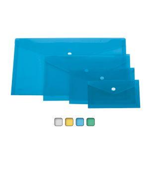 Busta con bottone a6-orizz. 18,5x13,5cm colori assortiti lebez 80195 68142 A 80195_68142