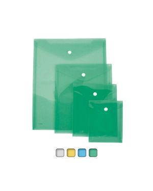 Busta con bottone a7-vert. 11,5x15,5cm colori assortiti lebez 80200 68147 A 80200_68147 by Esselte