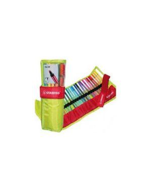 Rotolo verde 25 pennarelli stabilo® pen 68 6825/068_68422