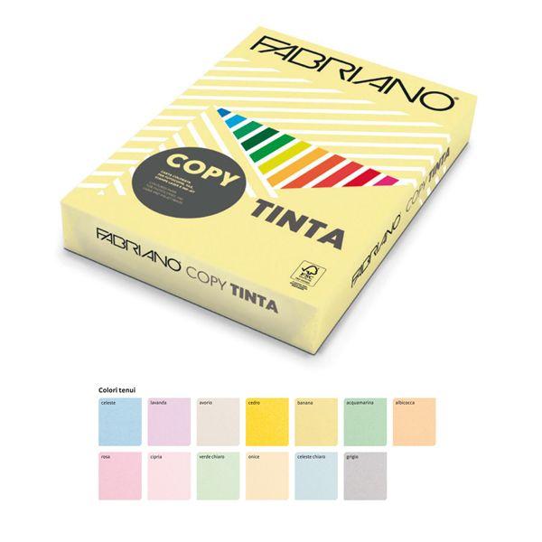 Carta copy tinta a4 160gr 250fg col.tenui avorio fabriano 69916021_68432 by Esselte