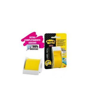 Rotolo post-it®super sticky 25mmx17,7mt giallo post-it 2650-yeu 22772._68662