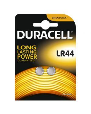 Blister 2 pile alcaline duracell 1,5v 150mah (lr44 LR44/2 5000394504424 LR44/2_68688 by Duracell