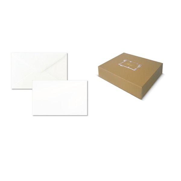 Scatola 100biglietti bianchi 240gr f.to 4 69x106mm bristol sadoch 8004 8004999800407 8004_68904 by Rex Sadoch
