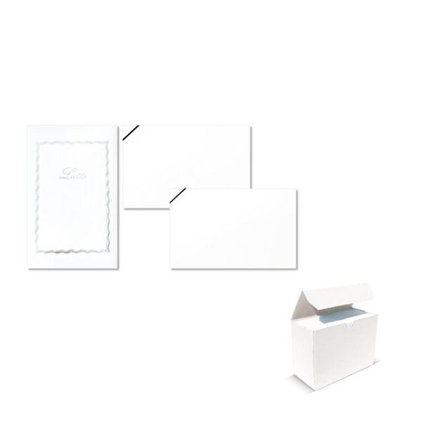 Taschetta 10biglietti+10buste lutto f.to 9 90x140mm sadoch CONFEZIONE DA 25 8017_68907 by Esselte