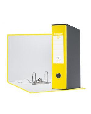 Registratore eurofile g55 giallo vivida dorso 8cm f.to protocollo esselte 390755930_68918