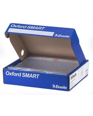 Scatola 4x100 buste forate 22x30 lucida office oxford smart esselte 391098000 8004157109809 391098000_68950