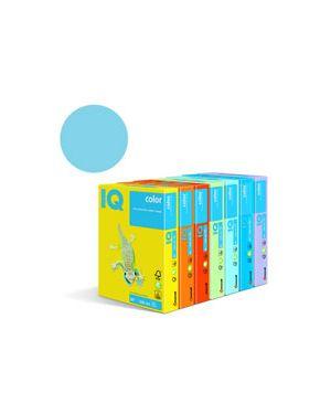 Carta fotocopie colorata tenue gr.160 a4 i/q blu ghiaccio obl70 fg.25 180036597