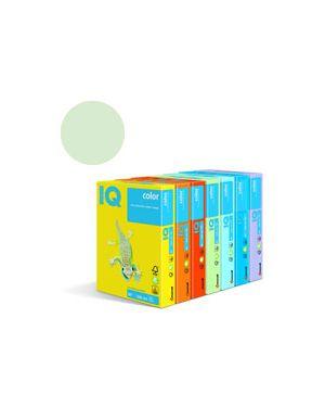 Carta fotocopie colorata tenue gr.80 a3 i/q verde gn27 fg.500 180027402
