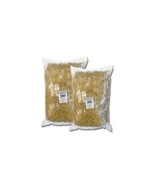Elastico gomma giallo Ø60 sacco da 1kg markin Y525G060X15_70055 by Markin