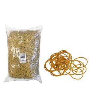 Elastico gomma giallo Ø60 sacco da 1kg markin Y525G060X15 8007047005083 Y525G060X15_70055 by Markin