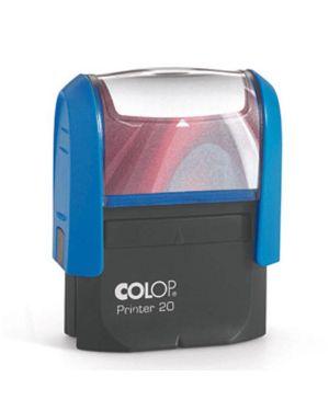 Timbro printer 20 g7 autoinchiostrante 14x38mm 4 righe colop PR 20 G7 BI 9004362487159 PR 20 G7 BI