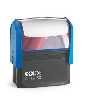 Timbro printer 50 g7 autoinchiostrante 30x69mm 7 righe colop PR 50 G7 BI 9004362487456 PR 50 G7 BI
