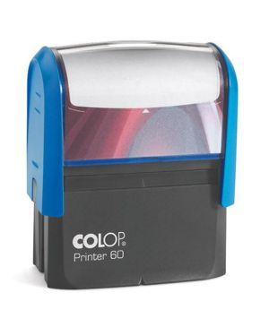 Timbro printer 60 g7 autoinchiostrante 37x76mm 8 righe colop PR 60 G7 BI 9004362487630 PR 60 G7 BI