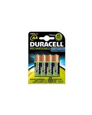 Blister 4 pile ricaricabili b4 - stilo 2400mah duracell duralock precaricata 8136752 5000394057043 8136752_70166