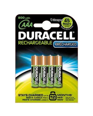 Blister 4 pile ricaricabili b4 - ministilo 800mah duracell duralock precaricata 81364755 5000394203815 81364755_70167 by Duracell