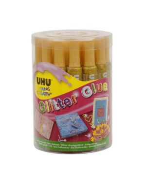 glitter glue oro 20ml Uhu D1555 4026700390124 D1555