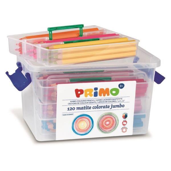 Conf120  matite color jumbo lac.esa Primo 511MAXI120 8006919005114 511MAXI120_71019 by Primo - Morocolor