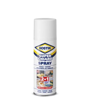 Colla spray superchiaro 2in1 500ml rimovibile - permanente bostik D2250 8710439156705 D2250_71026