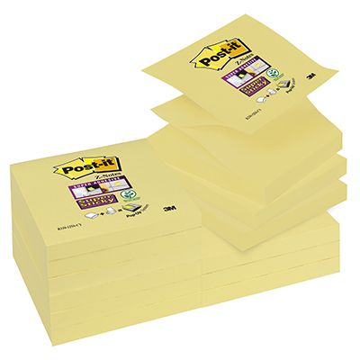 Post-it ricambio z-notes super sticky giallo canary 76x76 POST-IT 81451 30051141968699 81451_71236 by Esselte