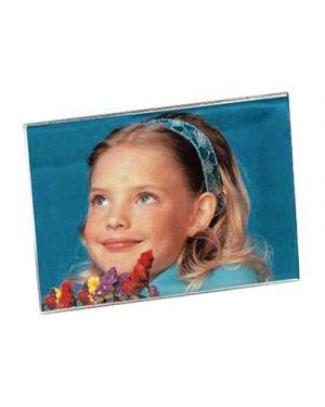 Portadepliant - portafoto in acrilico orizzontale cm.15x20 LEBEZ 7038 8007509070383 7038_71507