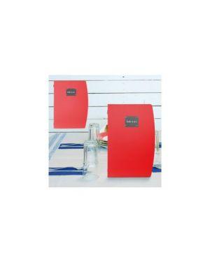 Porta menu' a4-24x34cm rosso rio con 1 inserto doppio MC-RCA4-RD 8718226497512 MC-RCA4-RD_71613
