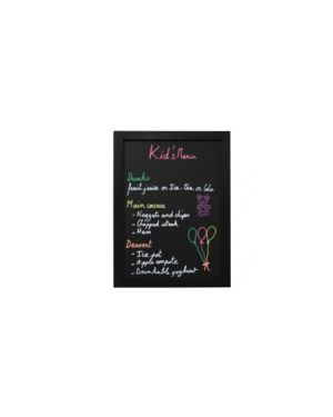 Lavagna nera 30x40cm woody securit WBW-BL-30-40_71642 by Esselte