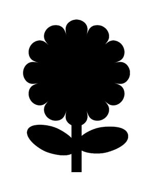 Lavagna da parete 'fiore' silhouette Securit Cod. FB-FLOWER 8718226493392 FB-FLOWER_71662 by Securit