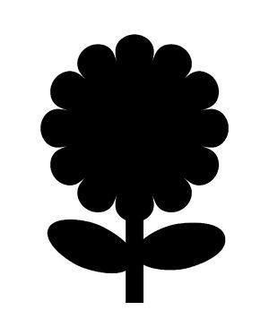 Lavagna da parete 'fiore' silhouette securit FB-FLOWER 8718226493392 FB-FLOWER_71662