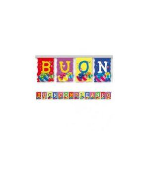 Festone buon compleanno 4mt in carta pegaso PB 923_71679