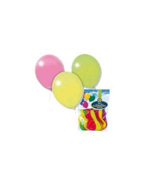 Busta 20 palloncini fluo Ø28cm assortiti pegaso PB 030FLUOM_71682