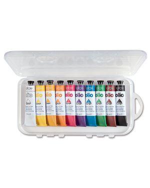 Astuccio 10 colori a olio 18ml primo 425TO10P 8006919004254 425TO10P_71771 by Primo - Morocolor