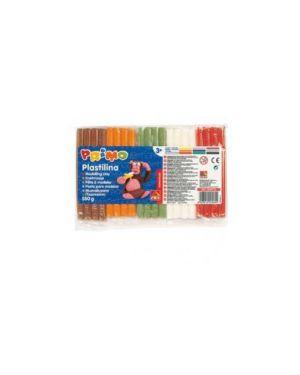 Panetto plastilina 10 colori da 55gr primo 269PP10_71773 by Esselte