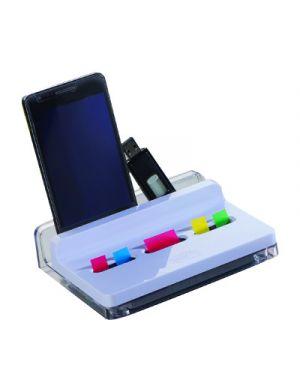 Dispenser ricaricabile slim per segnapagina post it index 75375_71774 by Esselte
