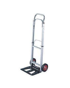 Carrello portatutto in alluminio pieghevole c - ruote portata max 90kg HT 2101 8032937534046 HT 2101_71784