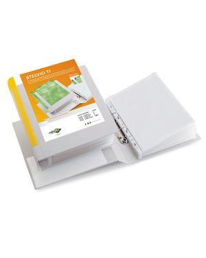 Raccoglitore stelvio ti 25 a5 4d 15x21cm bianco personalizzabile sei rota 36255501_71810 by Esselte