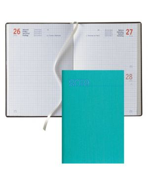 Agenda 11x14,8 s - d abbinati classica sketch silk verde acqua BALDO 62400952 803279365433 62400952