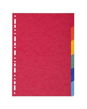 Separatore a4-maxi a 6tacche in cartoncino riciclato 220gr forever 2106E 3130630021063 2106E_71842 by Exacompta