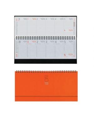 Genda 29,8x10,5 sett.spir. gommato arancio 023000417 23000417