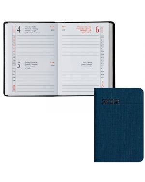 Agenda tasc.6,5x10 2 gg classica silk blu 049100901 TAVECCHI 49100901 8032793650256 49100901