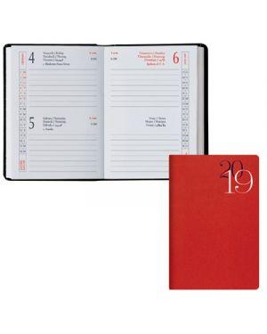 Agenda tasc.6,5x10 2 gg classica jeans rosso 49100303 BALDO 49100303 2000001855690 49100303