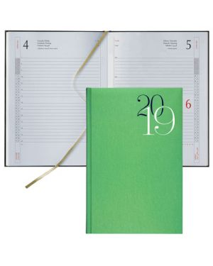 Agenda 14,5x20,5 classica s - d jeans verde mela 64000335 BALDO 64000335 803279365483 64000335